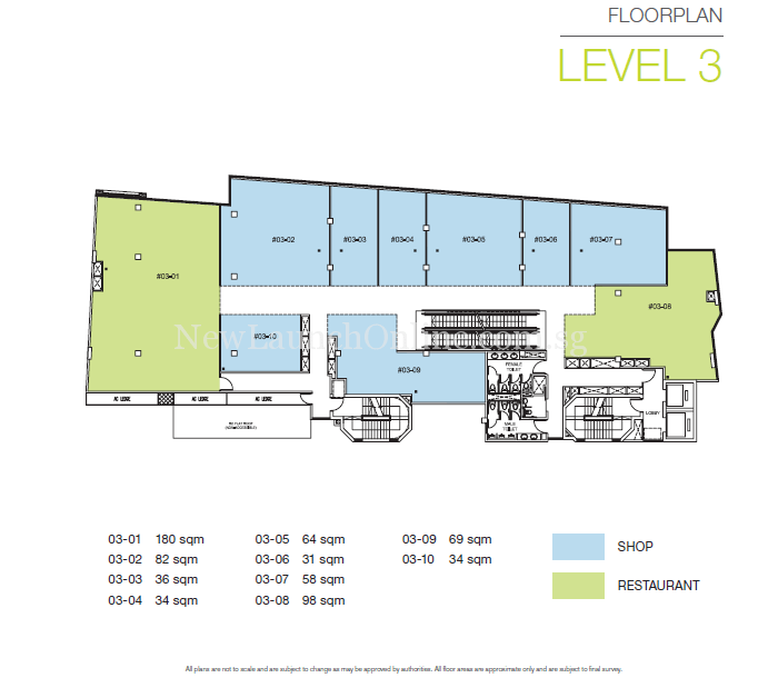 TRIO @ Sam Leong Road Level 3 Floor Plan