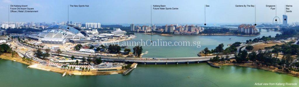 Breathtaking View of Kallang Riverside