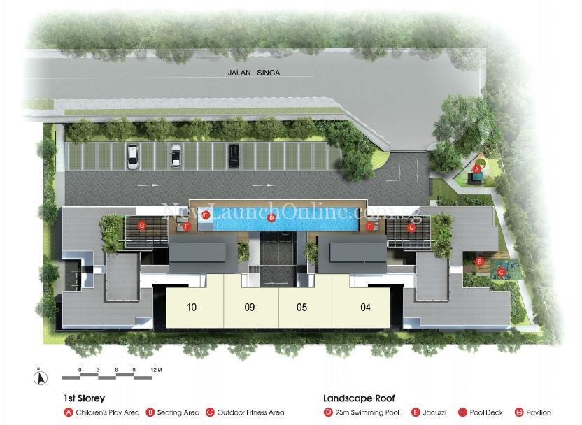 Singa Hills Site Plan