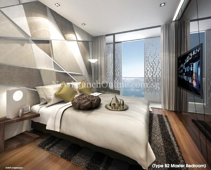 Singa Hills Type B2 Master Bedroom