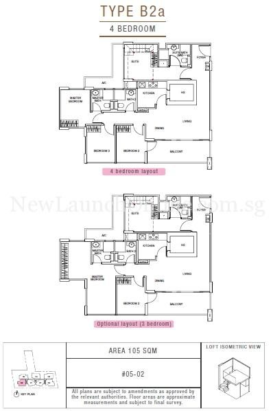 Sunnyvale Residences 4-Bedroom Type B2a