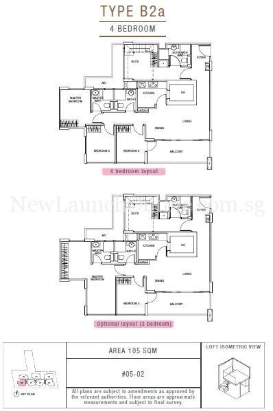 Sunnyvale Residences 4-Bedroom Type B2a