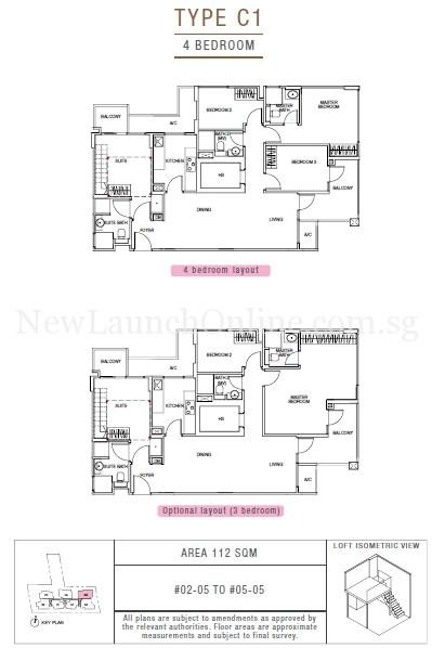 Sunnyvale Residences 4-Bedroom Type C1