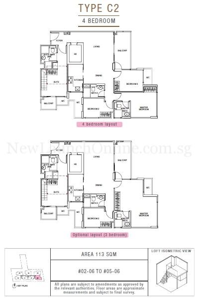 Sunnyvale Residences 4-Bedroom Type C2