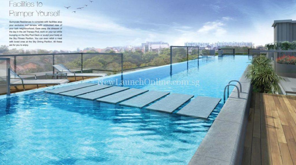 Sunnyvale Residences Lap Pool
