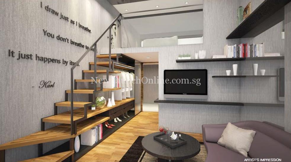 Sunnyvale Residences Living Room