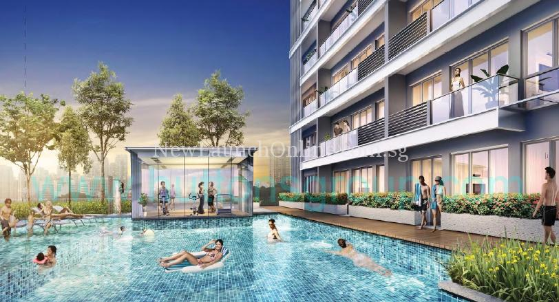 The Rise at Oxley - Residences Swimming Pool