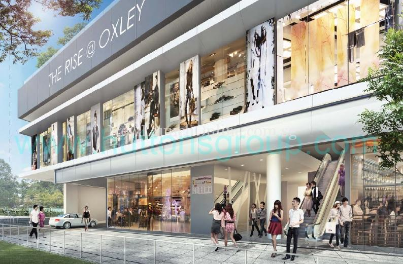 The Rise at Oxley Retail Podium