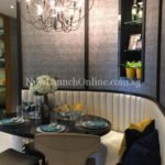 Trilive new showflat dining area