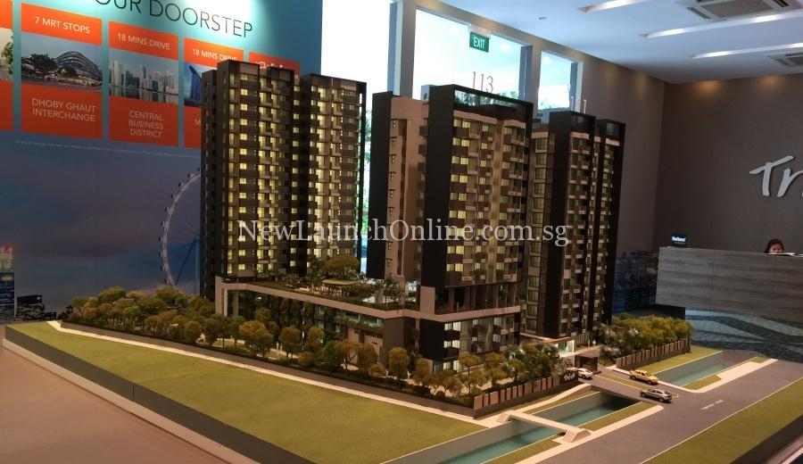 Trilive new showflat
