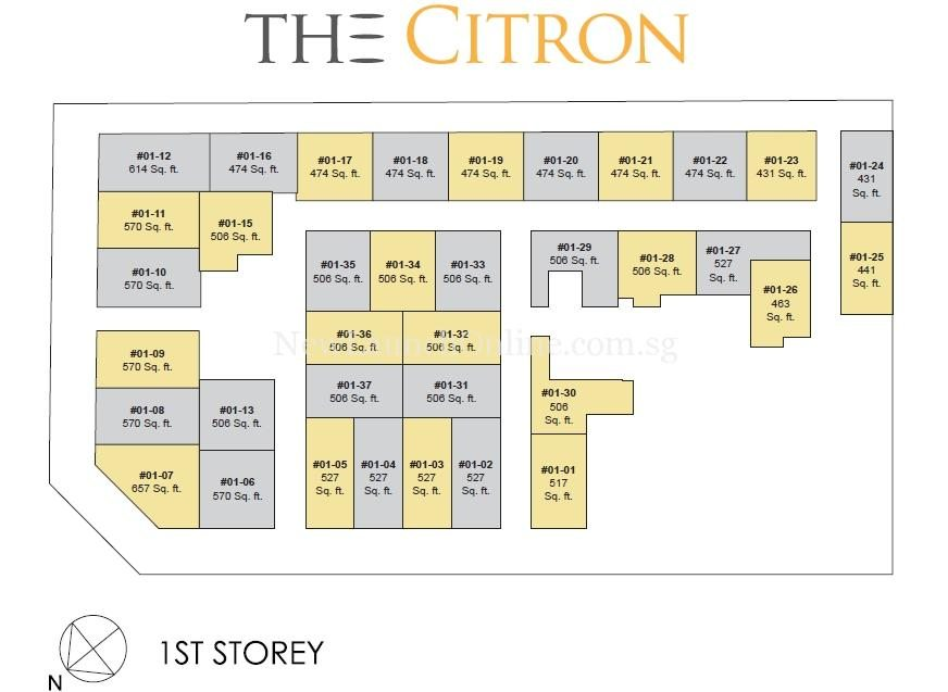 The citron the citron residences showflat call 61008935 for Commercial building plans online