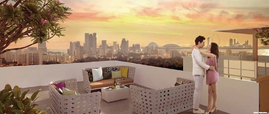 TRE Residences Sky Patio