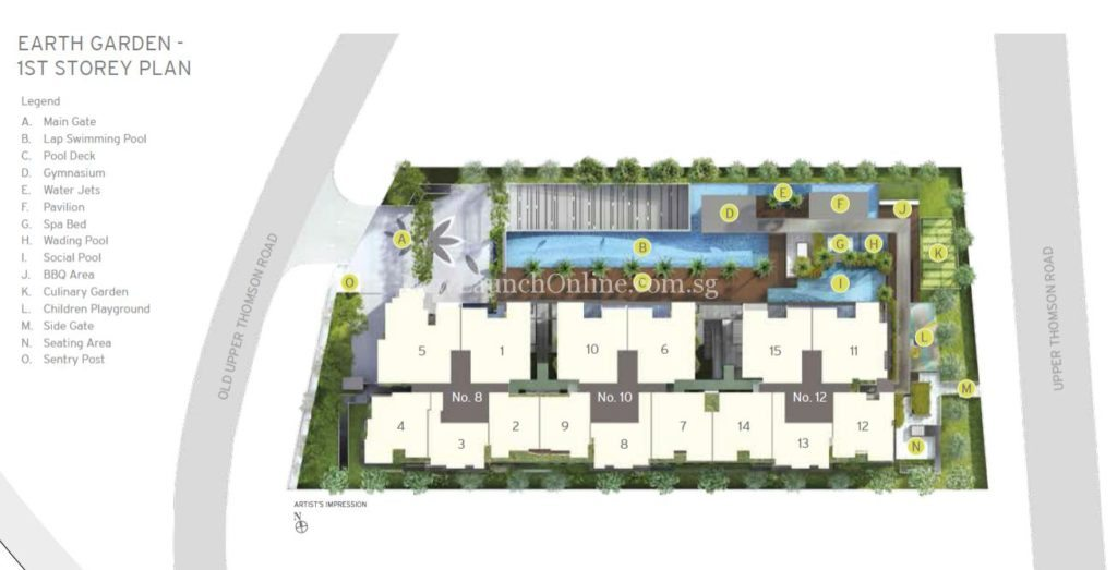 Adana at Thomson Site Plan