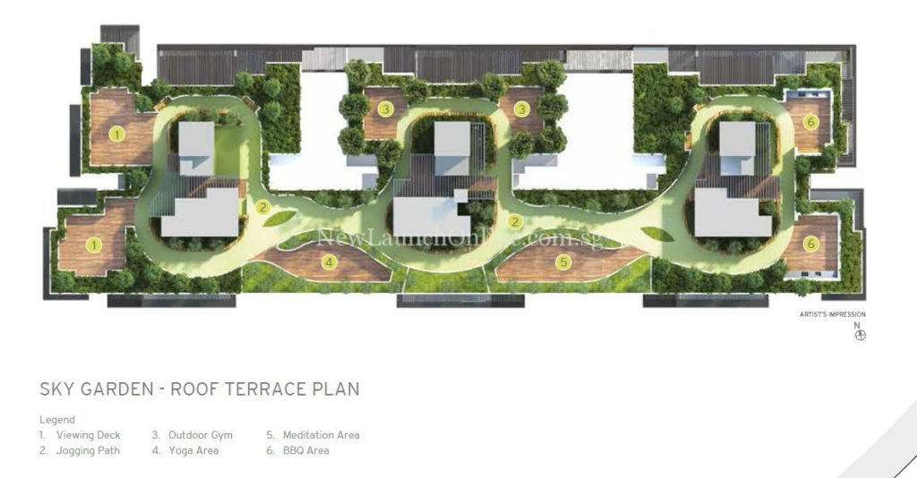 Adana Site Plan - Roof Terrace