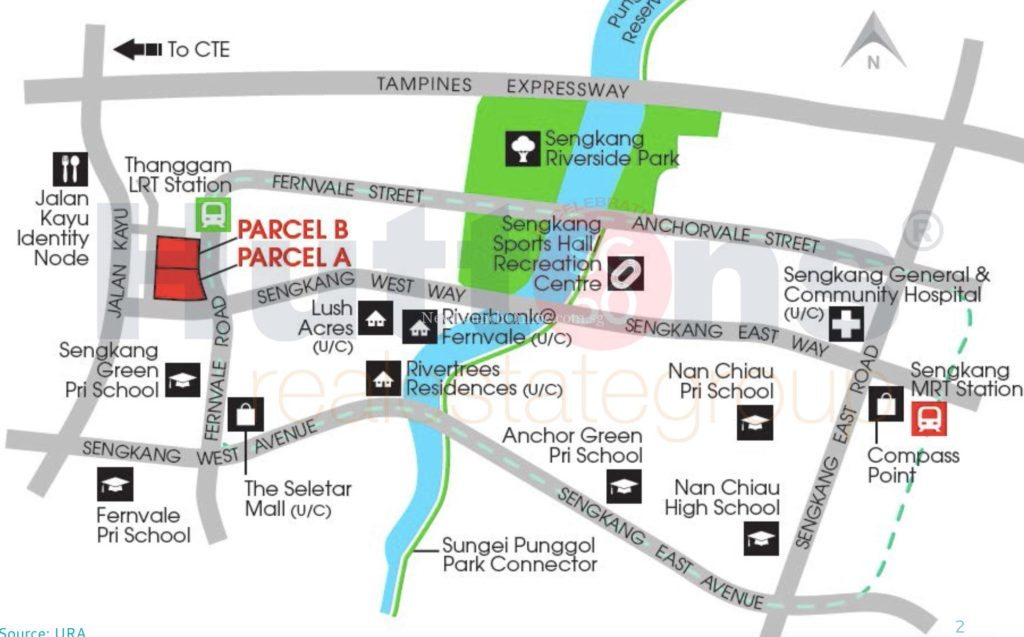 High Park Residences Location Map