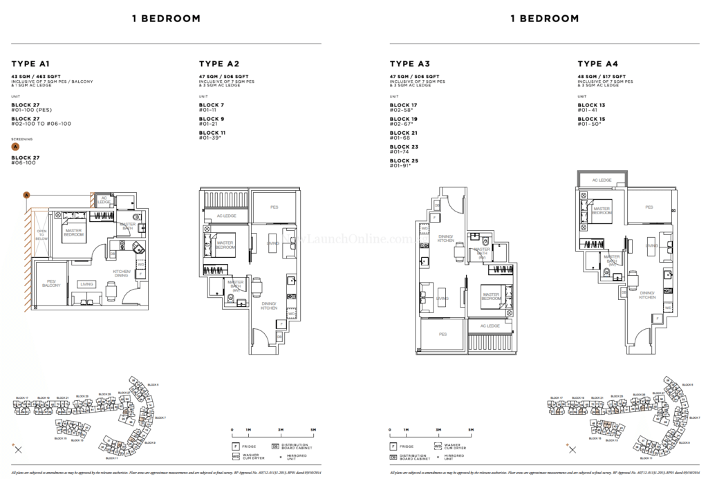 Sophia Hills Floor Plan - 1 Bedroom