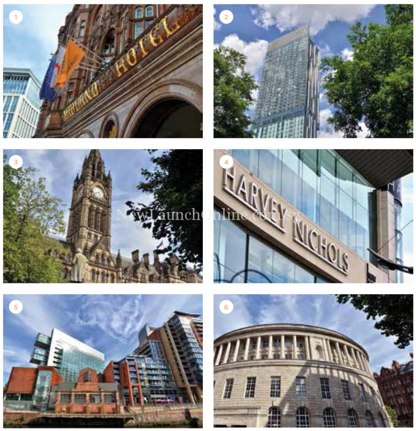 Oxygen Tower Manchester Amenities