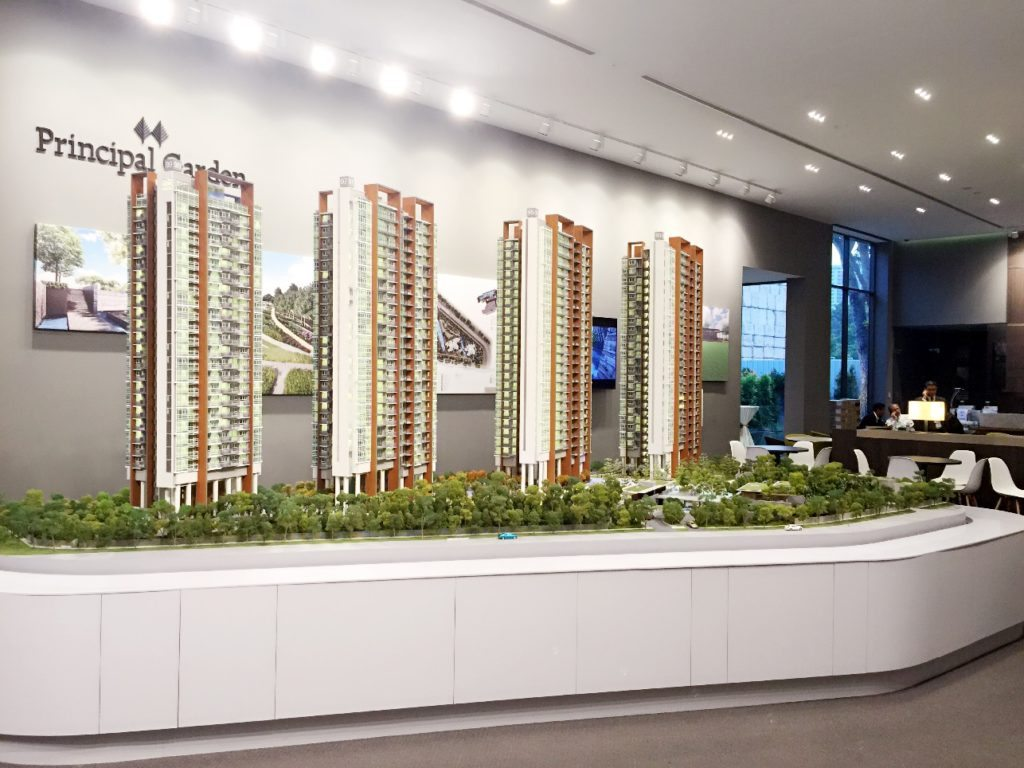 Principal Garden showflat model