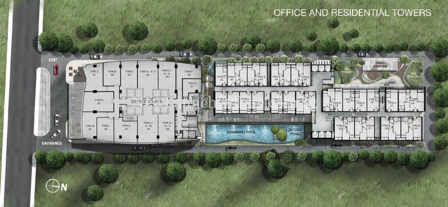 The Gateway Cambodia site plan (The Gateway at Cambodia)