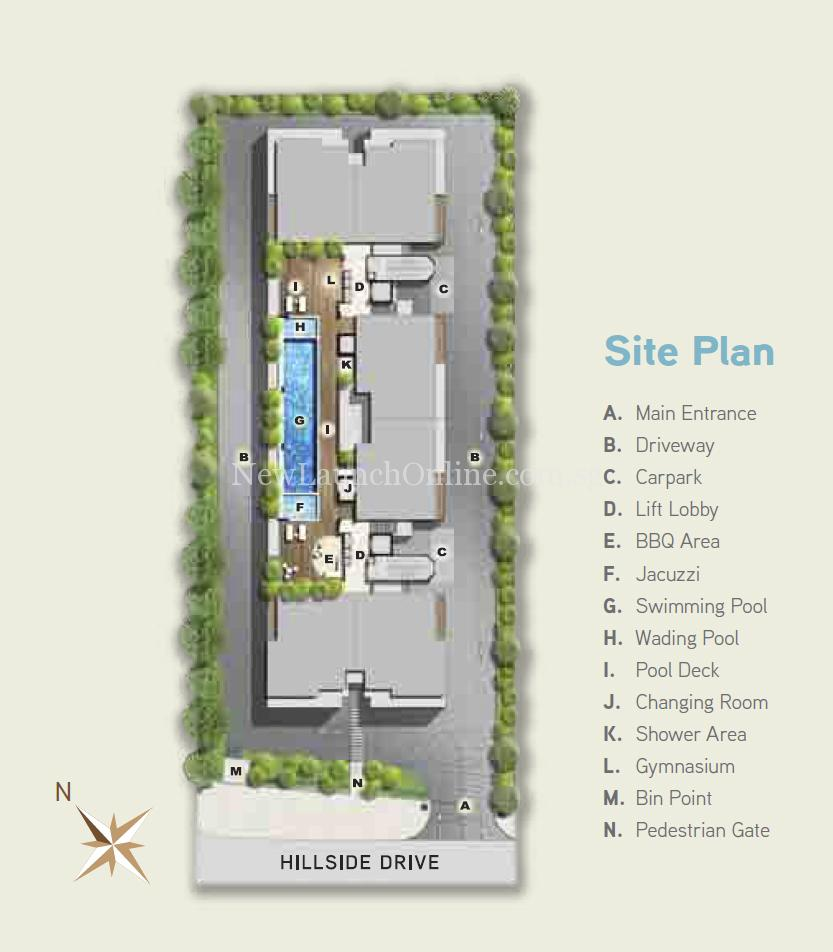 Hilbre 28 Site Plan