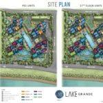 Lake Grade Site Plan (PES Unit & #17)