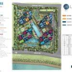 Lake Grade Site Plan (Typical unit)
