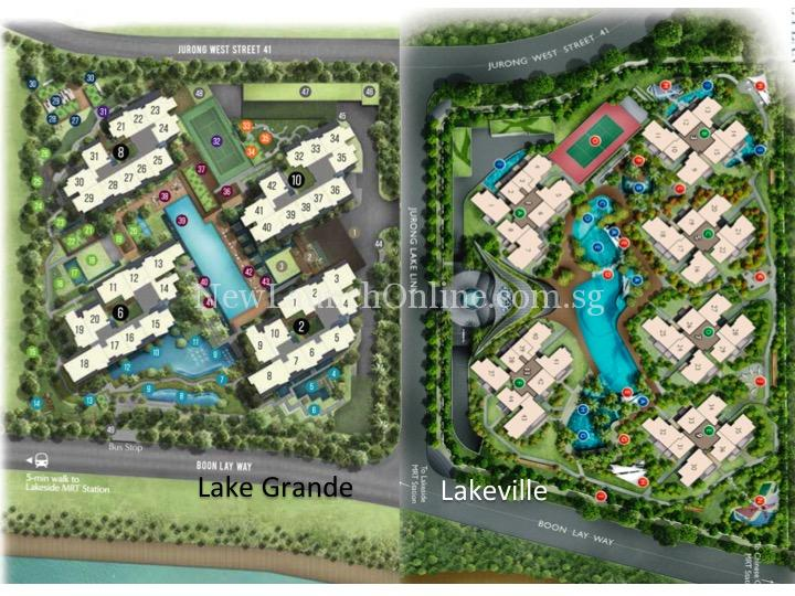 Lake Grande Site Plan (latest)