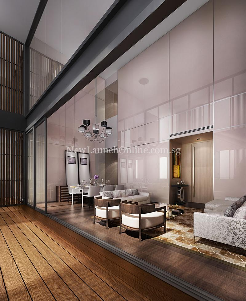 Lloyd SixtyFive High ceiling living room