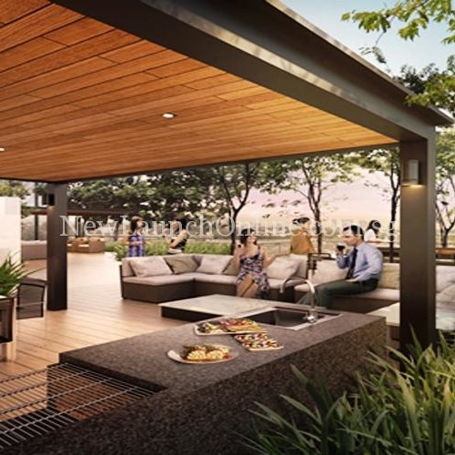 Robin Residences Alfresco area