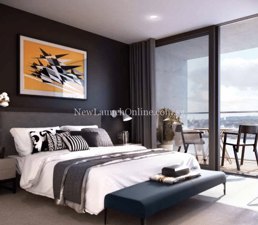 Royal Wharf London Bedroom Artist Impression