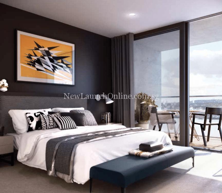 Royal Wharf London Bedroom Artist Impression
