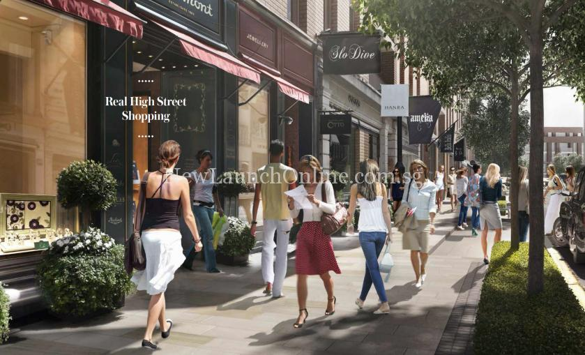 Royal Wharf London High Street Shopping