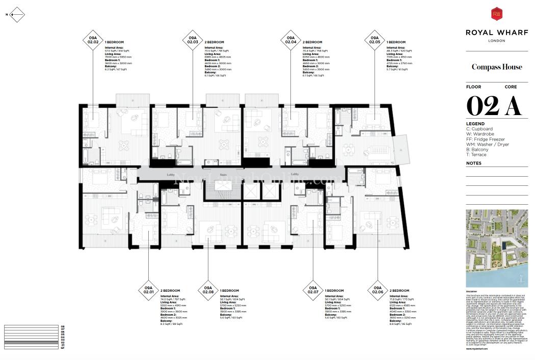 Royal Wharf London Floor Plan Compass House Newlaunchonline Com Sg