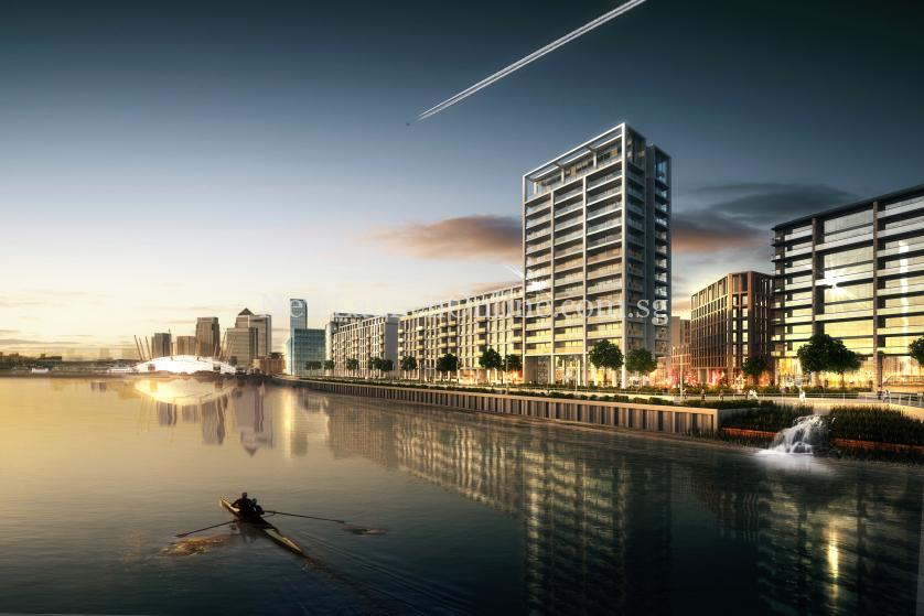 Royal Wharf London - A Beautiful New Riverside Neighbourhood
