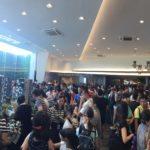 Strong crowd at Lake Grande Showflat (2)