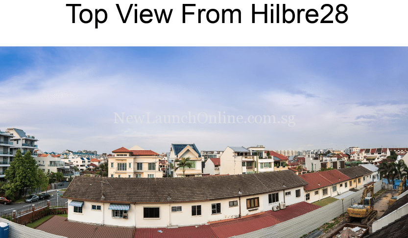 Top view of Hilbre 28