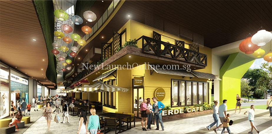 Vista Verde Vietnam retail mall