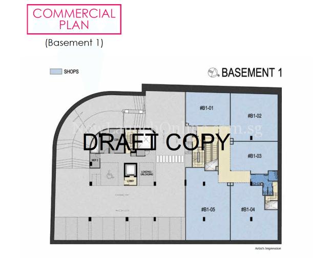183 Longhaus commercial site plan - basement 1