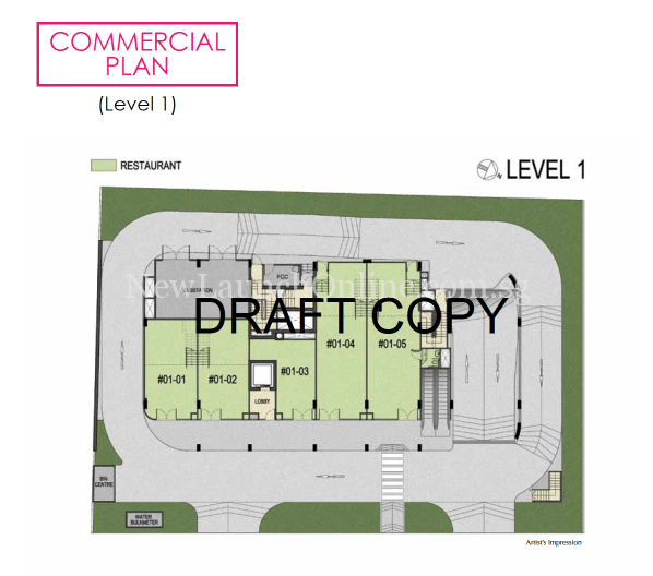 183 Longhaus commercial site plan - level 1