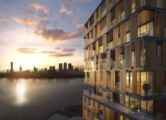 royal-wharf-phase-3-mariners-quarter-rive-side-view