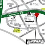 Parc Life Location map