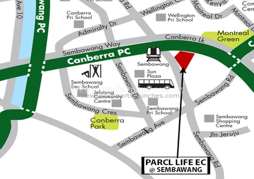 Parc Life Location