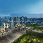 Sky park at level 29 of Sturdee Residences