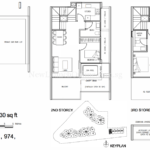 Stars of Kovan strata terrace floor plan