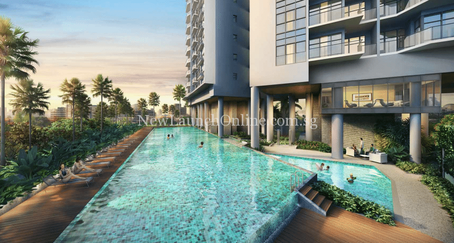 Sturdee Residences lap pool
