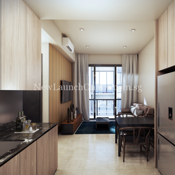 The Asana Interior Showflat