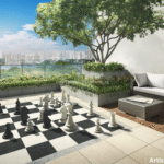Commonwealth Towers chess deck