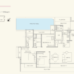 Three Balmoral Floor Plan - 3 Bedroom Type 3A1