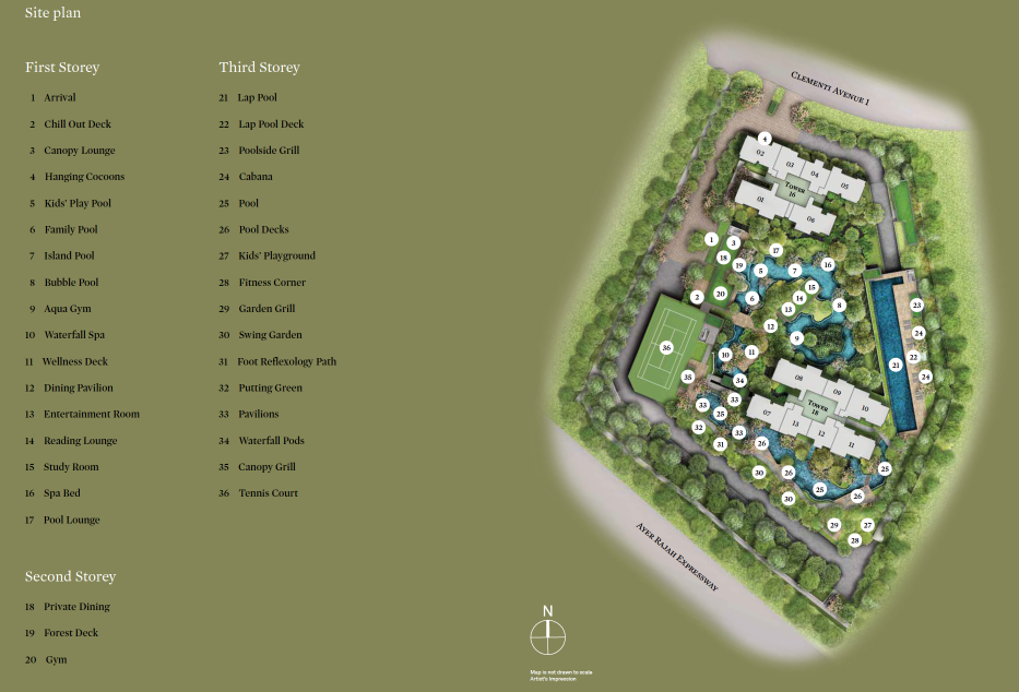 The clement canopy showflat hotline 61008935 showroom for Site plans online