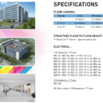 West Connect building specifications